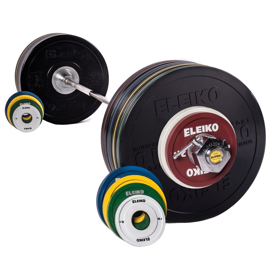 Комплект Eleiko 3002319 Sport Training Set - 185 кг