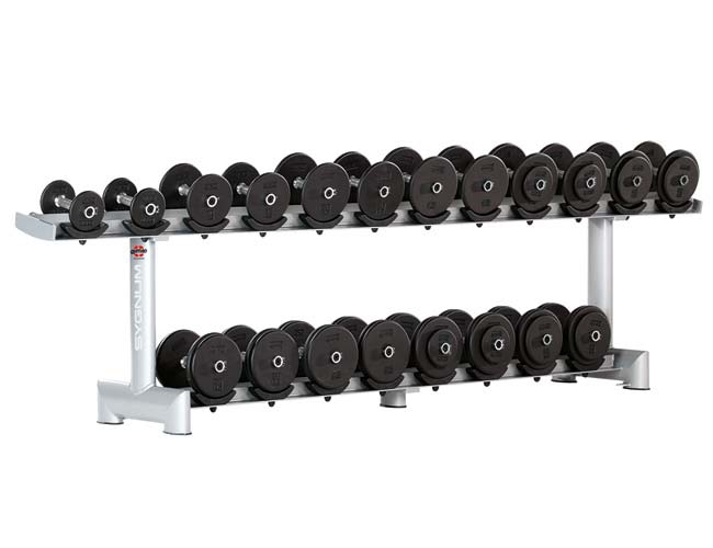 Подставка под гантели 10 пар Gym80 SYGNUM Dumbbell Rack with rubber Holders 4050